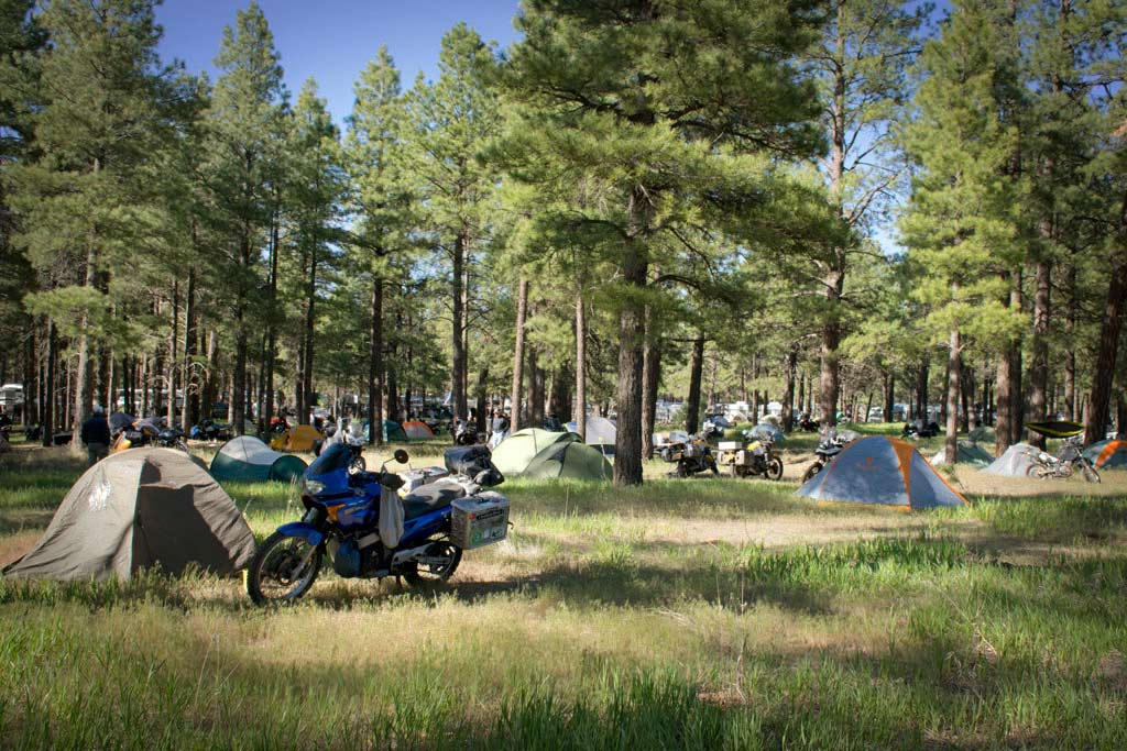 Overland Expo West 2017 camping