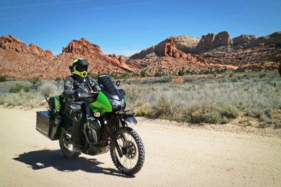 Polisport Kawasaki KLR650 OEM replacement plastics Adventure Motorcycle
