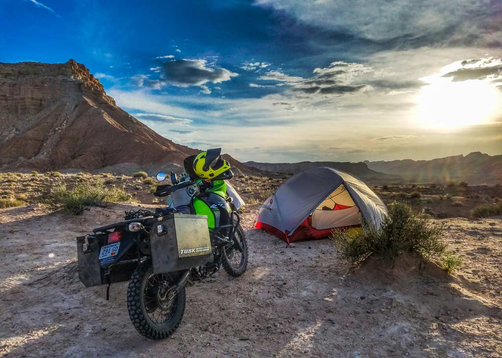 Motorcycle c&ing expands on the freedom that two-wheeled travel offers and opens up a world of experiences worth having. The problem that most newcomers ... & Quick Tips: Buying Quality Motorcycle Camping Gear on the Cheap ...