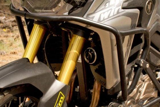 Africa Twin Build: Hepco & Becker Upper Crash Bars