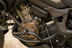 Black Dog Africa Twin Lower Engine Bars