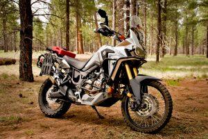 Black Dog Honda Africa Twin Bike Build