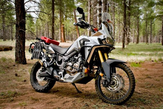 Black Dog Honda Africa Twin Build