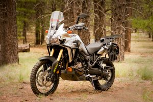 Black Dog Honda Africa Twin Bike Build