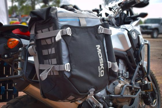 Africa Twin Build: Mosko Moto 35L Backcountry Panniers