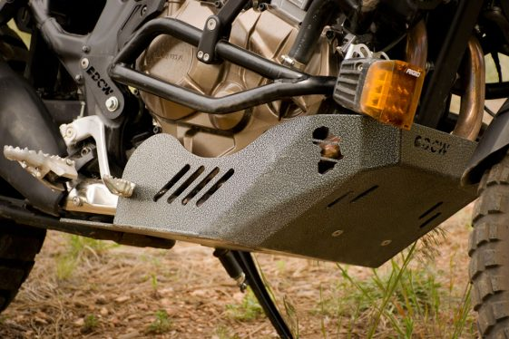Africa Twin Build: Black Dog Skid Plate