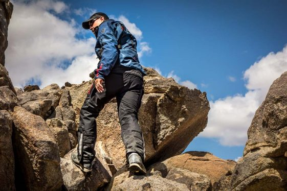 REV'IT! Discovery OutDry Adventure Motorcycle Boots - Out Hiking