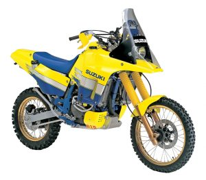 '91 Suzuki DR-Z 800 Rally Bike