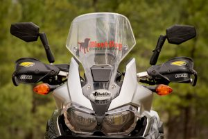 Africa Twin Mirrors and Hand Guards