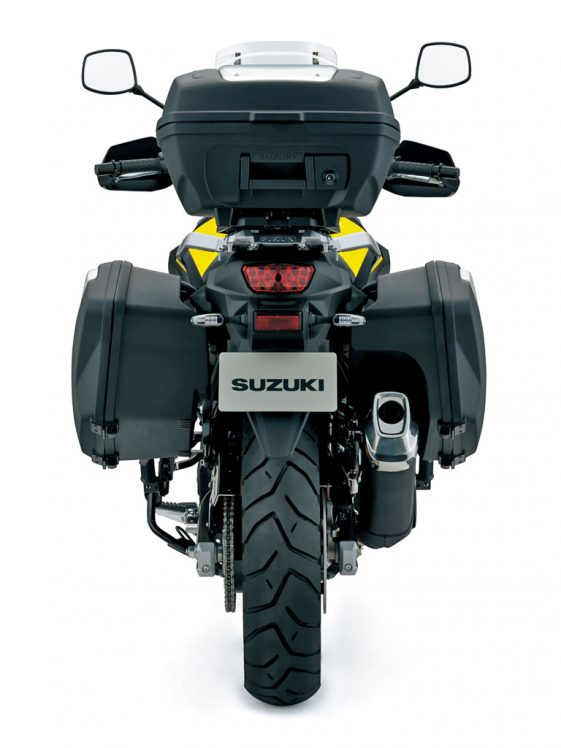 V-Strom 650 Hard Luggage