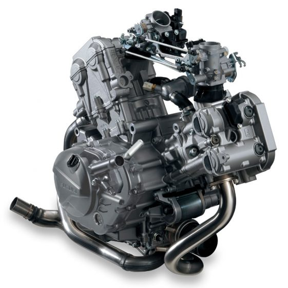 V-Stom 650 V-Twin engine