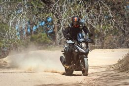 Riding the 2017 Suzuki V-Strom 650 Off-Road