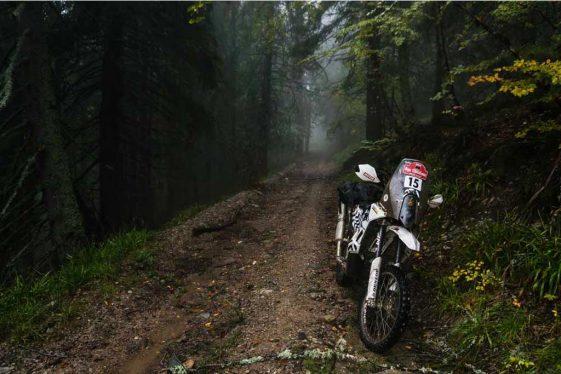 Trans Euro Trail TET Romaia