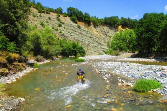 Trans Euro Trail TET Greece