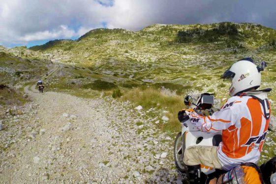 Trans European Trail TET Montenegro