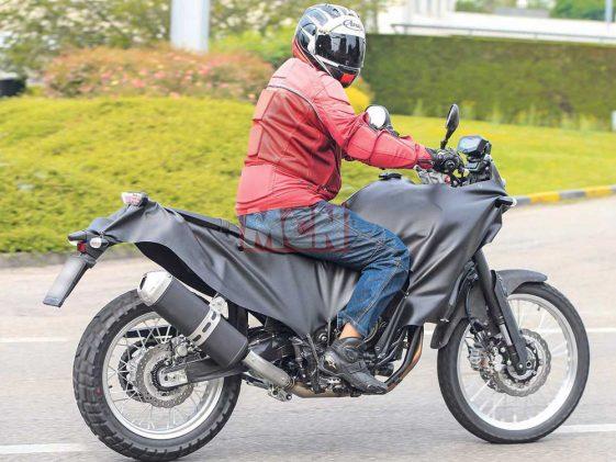 Yamaha XT700Z Tenere Adventure Motorcycle
