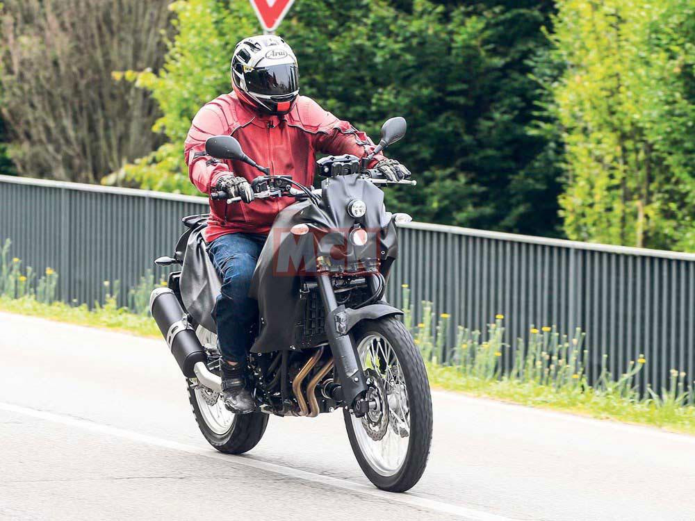 Yamaha XT700Z Tenere Spy Shots