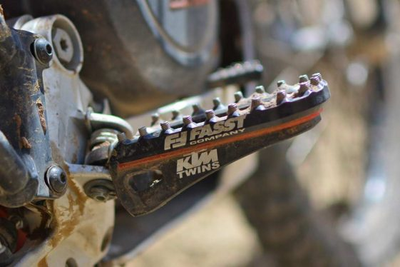 KTM 690 Enduro Bike Build Fasst Company Foot Pegs