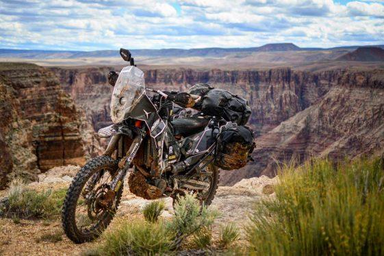 KTM 690 Enduro Bike Build Grand Canyon