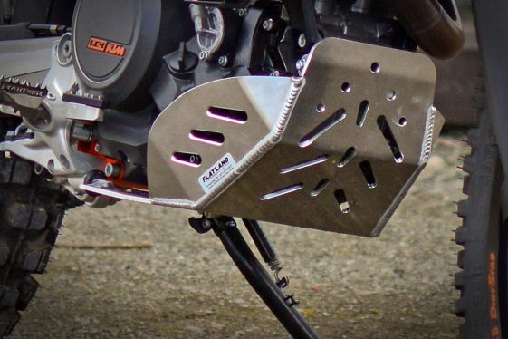 KTM 690 Enduro Bike Build Flatland Racing Skid Plate