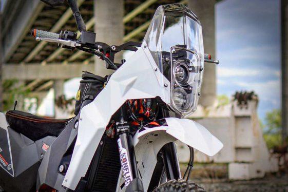 KTM 690 Enduro Bike Build MST EVO2 Adventure Rally Kit