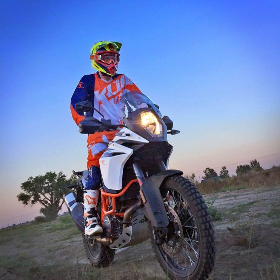Scott Bright KTM 1090 Adventure R Baja Rally
