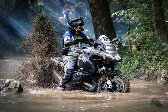 Adventure Rider takes on TKO hard enduro on BMW R1200GSA