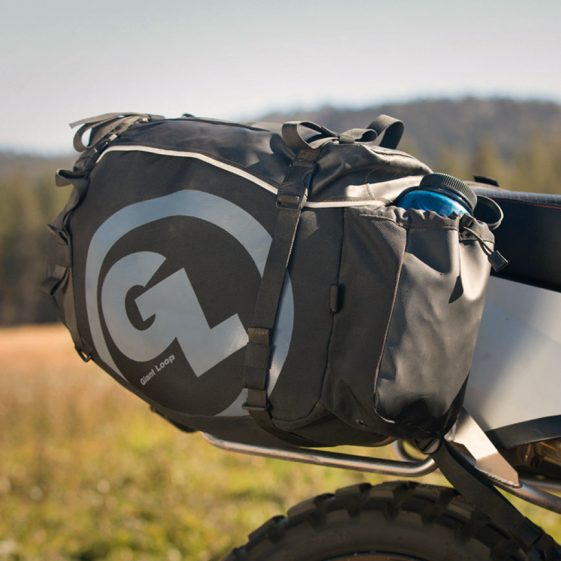 giant loop siskiyou panniers front pocket