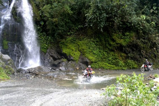 Adventure Motorcycle Off-road Ecuador Tour
