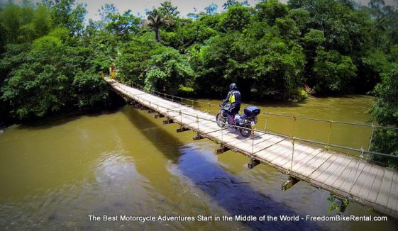 Adventure Motorcycle Tour in Ecuador through Andes, Amazon and Pacific