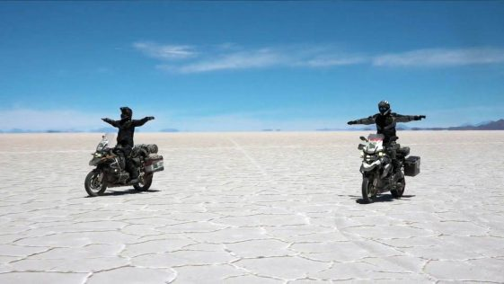 South America Trip: riding Salar de Uyuni