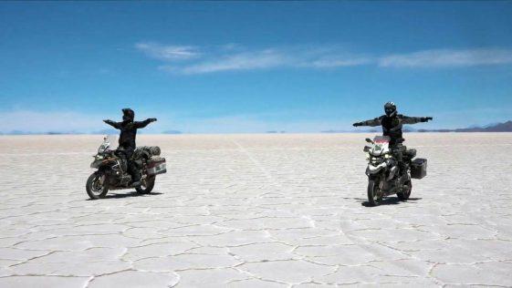 South America Trip: riding Salar de Uyuni