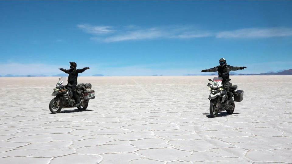 Expedition 65 riding Uyuni de Salar