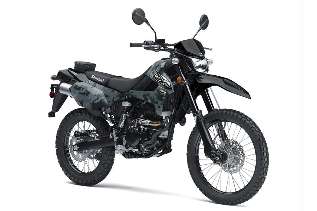 Kawasaki Brings Back New and Improved KLX250 Dual Sport ...