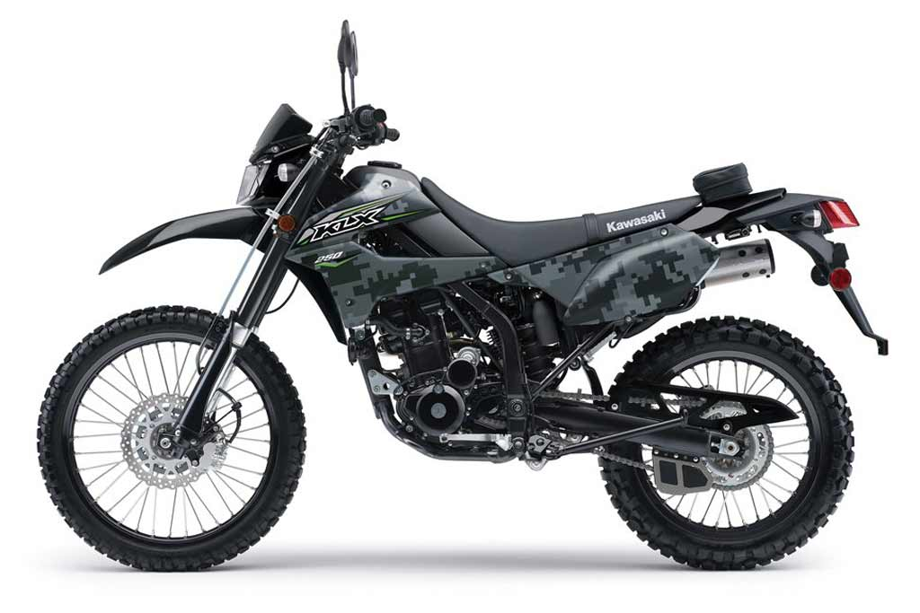 kawasaki brings back new and improved klx250 dual sport adv pulse. Black Bedroom Furniture Sets. Home Design Ideas