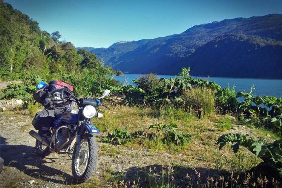 Round the World on a motorcycle as a complete novice rider