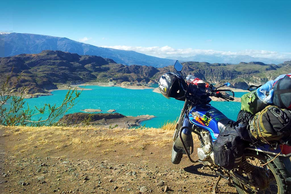 Round the World on a motorcycle as a complete novice