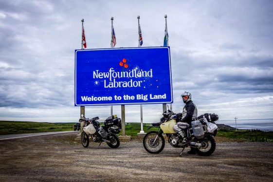Trans-Labrador Highway Adventure Motorcycle