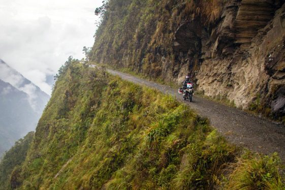 Expedition 65 rides The Death Road