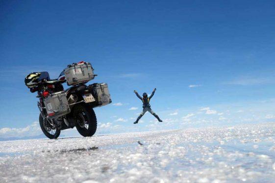 Adventure Motorcycle pillion travel 2-Up