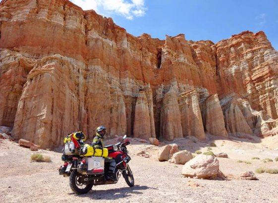 2-Up Adventure Motorcycle travelers