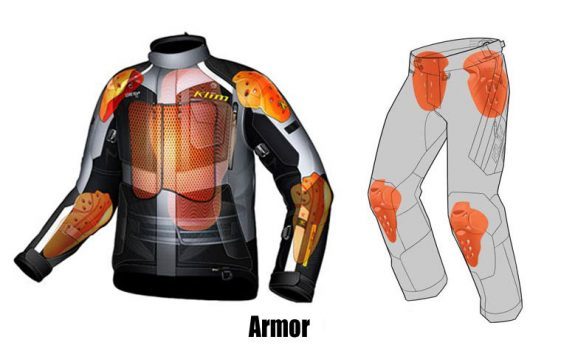 KLim Badlands Motorcycle Riding gear D3O Armor