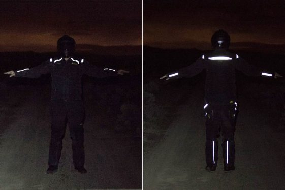 KLim Badlands Motorcycle Gear Night Visibility
