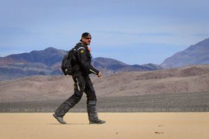 Walking through Death Valley in the Klim Badlands Jacket and Pants
