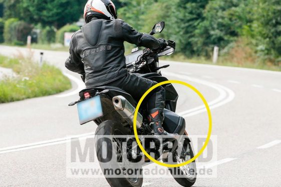 KTM 790 Adventure R spy photos
