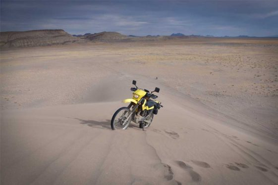RTW with different adventure motorcycles