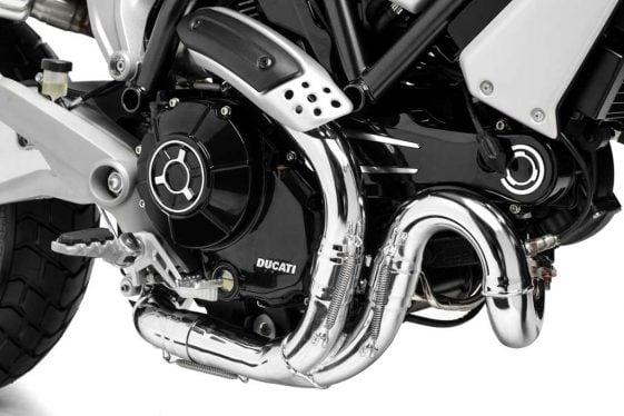 Ducati Scrambler 1100 Special engine