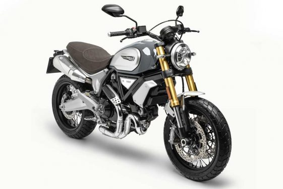 Ducati Scrambler 1100 Special light