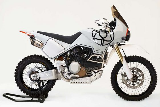 L'Avventura Adventure Motorcycle by Walt Siegl Motorcycles