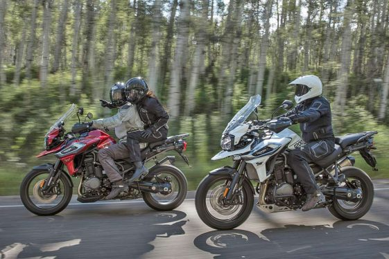 Triumph Tiger 1200 2018 Adventure Motorcycle